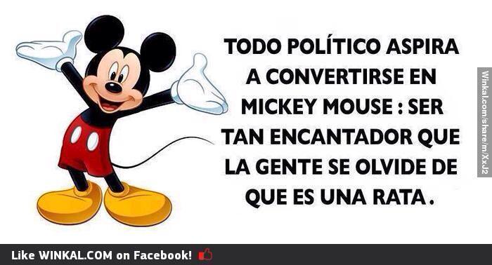 El sueño de todo político