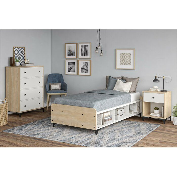 Isabelle Max Holly Hills Twin Platform Configurable Bedroom Set Reviews Wayfair Kids Bedroom Sets Bedroom Set Bedroom Sets