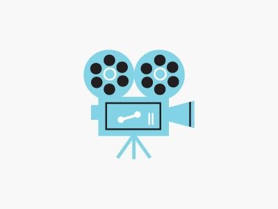 film icon 21 Gorgeous film logos and icons for your design inspiration