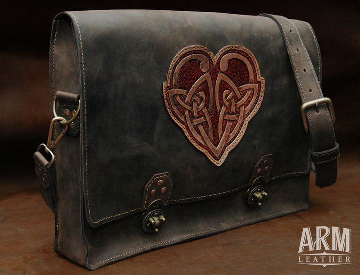 Celtic Heart 1 by ~L1Andy on deviantART. I want a messenger bag!
