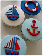 Sailing Boat Cupcakes