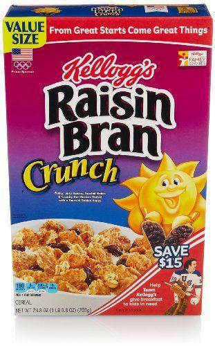 Raisin Bran Crunch Cereal, 24.8 Oz - http://sleepychef.com/raisin-bran-crunch-cereal-24-8-oz/
