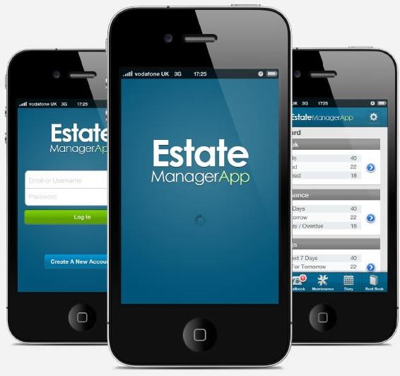 estate manager app, iphone app.