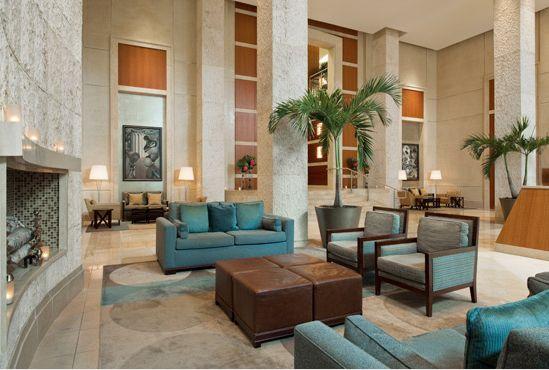 Westin Hotel - Alexandria, VA designed by Design Continuum (Atlanta, GA) - Lobby