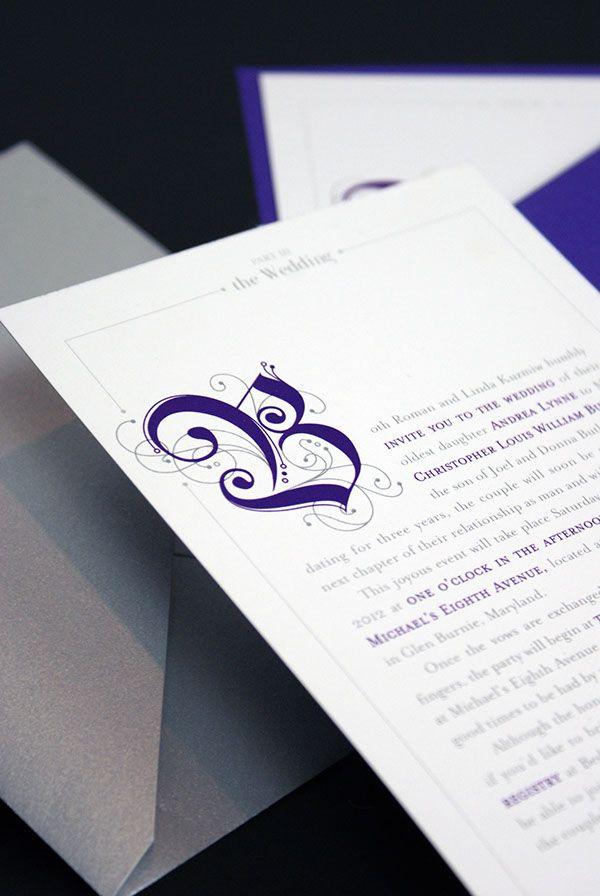 Storybook Wedding Invitation on Behance