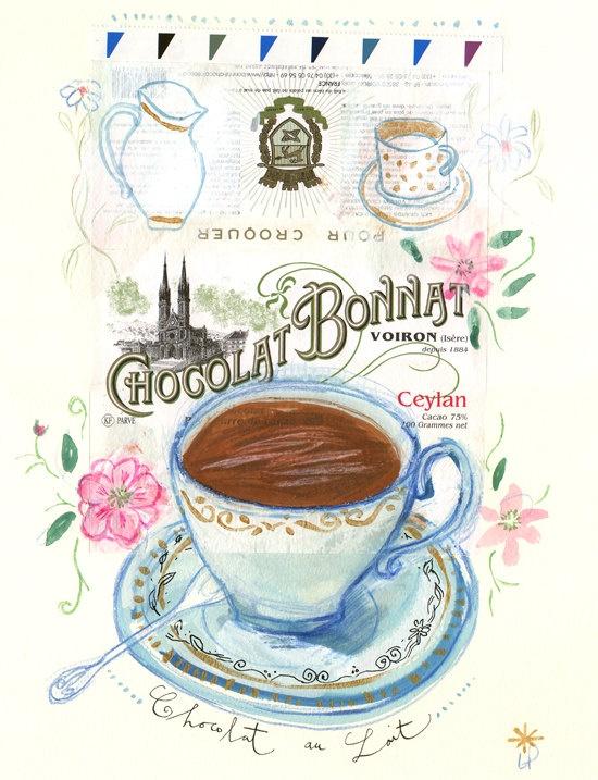 Lucile's kitchen Chocolat Bonnat