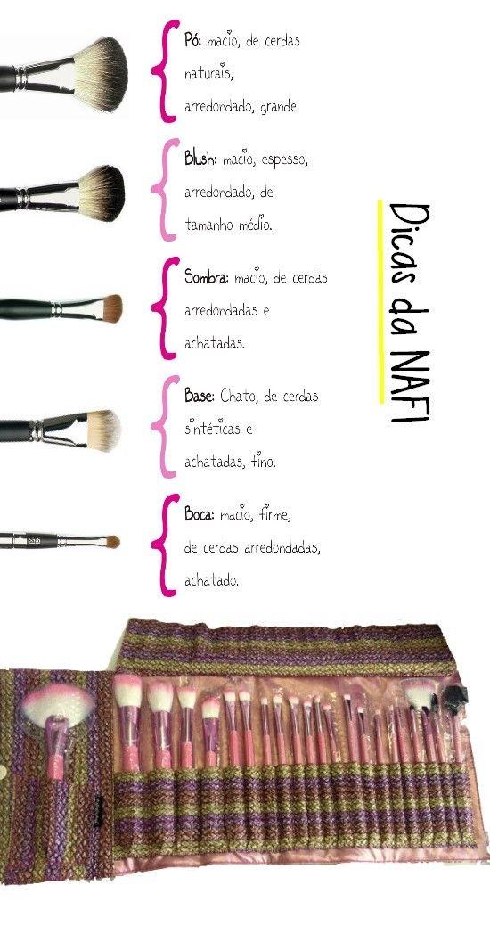 Veja como usar os vários tipos de pincéis de maquiagem e compre online na Rede Natura.  Aproveite os descontos exclusivos. A Natura entrega em sua casa em todo o Brasil. Pague com boleto bancário ou divida em até 6x sem juros no cartão (parcela mínima de R$ 30,00).   #maquiagem #makeup #natura