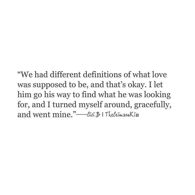 You ended up in different corners and that is alright, because that is how God meant it to go.