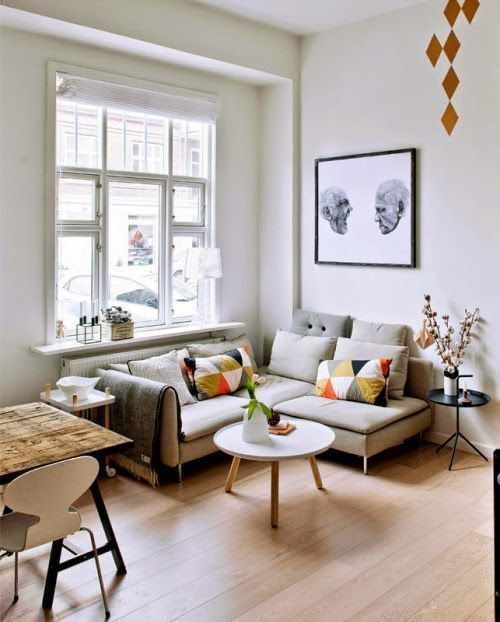 Creative small apartment (via Bloglovin.com )