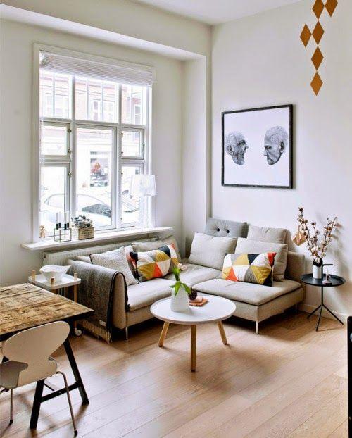 Creative small apartment (via Bloglovin.com )