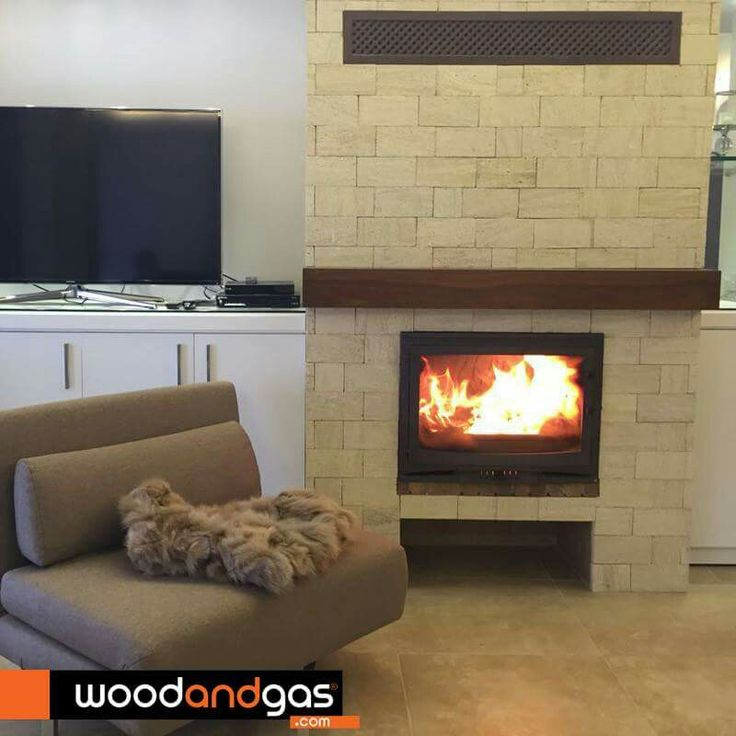 One of the most selling items from #Invicta.  Selenic wood #fireplace.  Available at #WoodandGas.