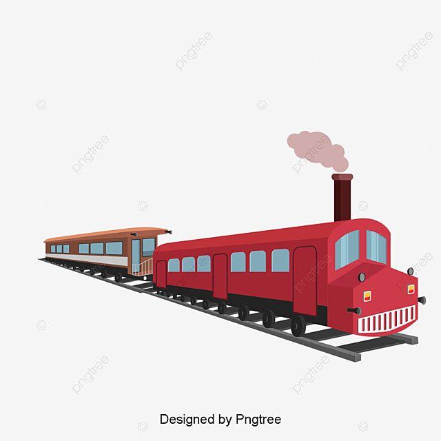 Retro Steam Train Railway Retro Train Red Png Transparent Clipart Image And Psd File For Free Download En 2021 Tren De Vapor Background Retro Regalos Para Adultos