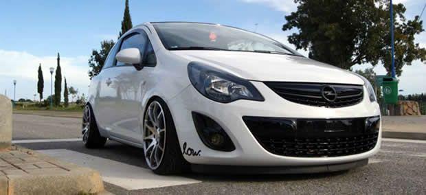 Simplicidade é tudo. Opel Corsa D - Cristiano Oliveira @ http://www.xtremetuning.org