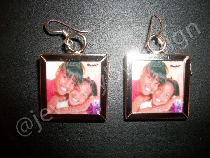 Small Personalized earrings