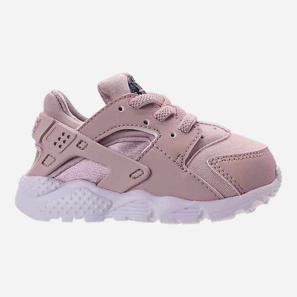 wholesale dealer cee12 57481 Right view of Girls  Toddler Nike Huarache Run Running Shoes in Particle  Rose Particle Rose Thunder