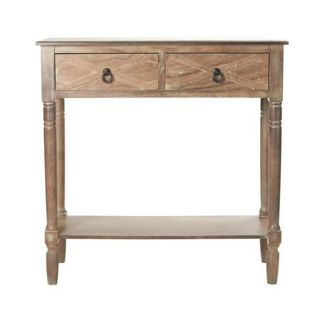 Pennsylvania Washed Wood Console Table | Dunelm £60