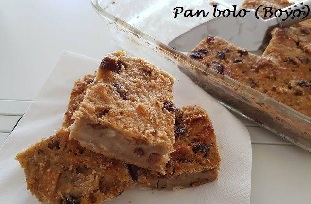 Browny's Cakes : Recept voor Pan boyo - Broodtaart