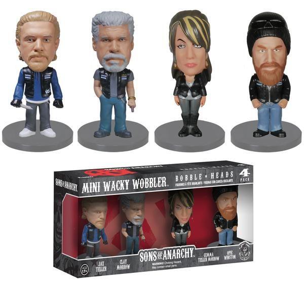 SOA (Son's of Anarchy Bobble Head Figures).