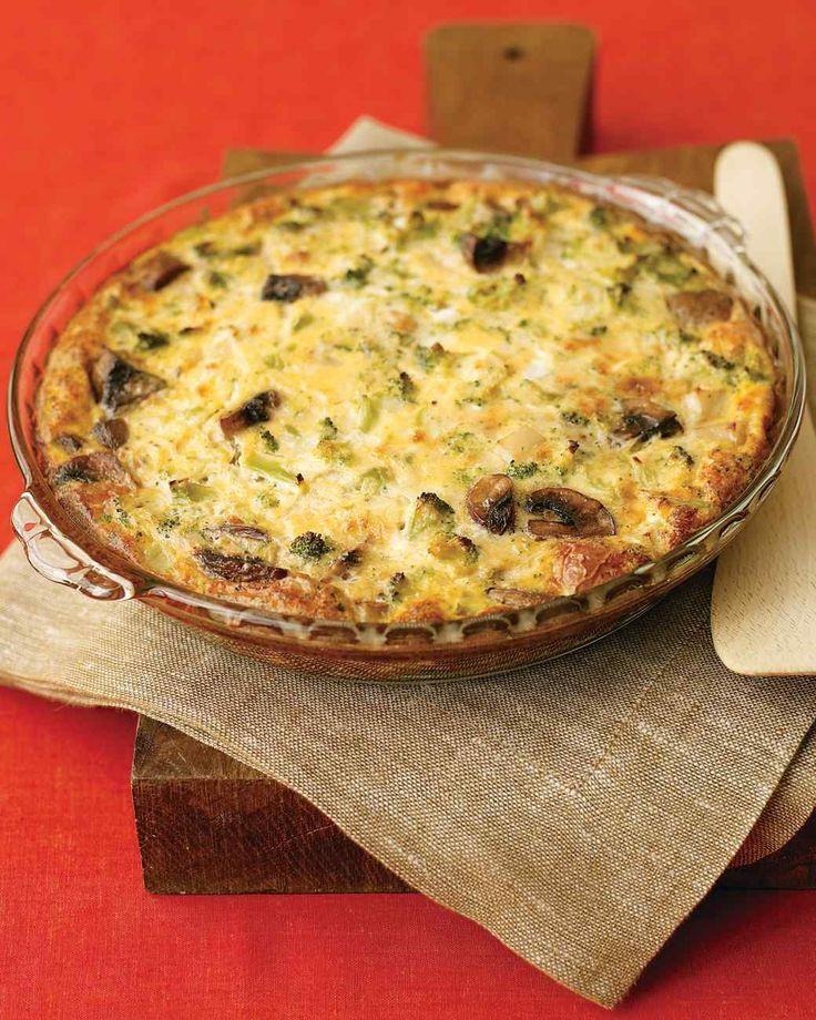 ... Frittata   Recipe   Martha stewart, Vegetarian frittata and Sauces