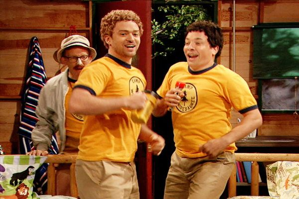 Watch The Tonight Show Starring Jimmy Fallon: Young Jimmy Fallon and Justin Timberlake Sing at Camp Winnipesaukee Online | Hulu