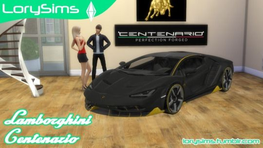 Sims 4 CC's - The Best: Cars by LorySims