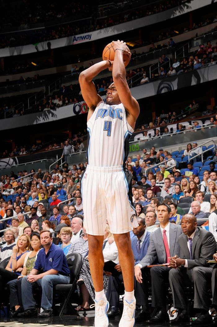 Arron Afflalo, Orlando Magic. 26 octobre 2012, vs Rockets.