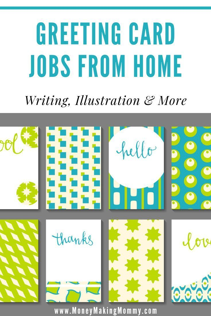 Greeting Card Jobs From Home Writing Illustration More Work From Home Companies Job Greeting Card Companies