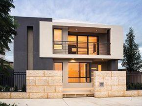 Fachadas Casas Modernas Dos Pisos Pequeñas Y Grandes  | Imagenes De Casas Lujosas #cocinaspequeñasmodernas