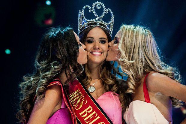 Annelies Törös sacrée Miss Belgique 2015