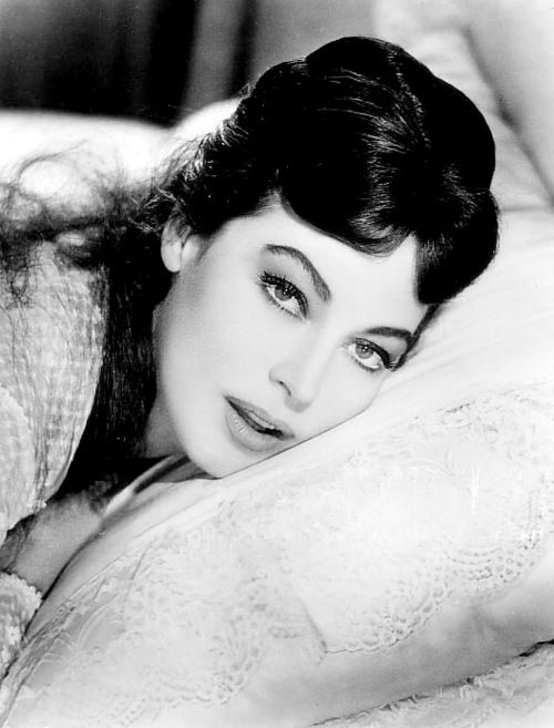 ava gardner ~ My Dad always told me that Ava chased him until Mom caught him. yeah...he said a lot of things