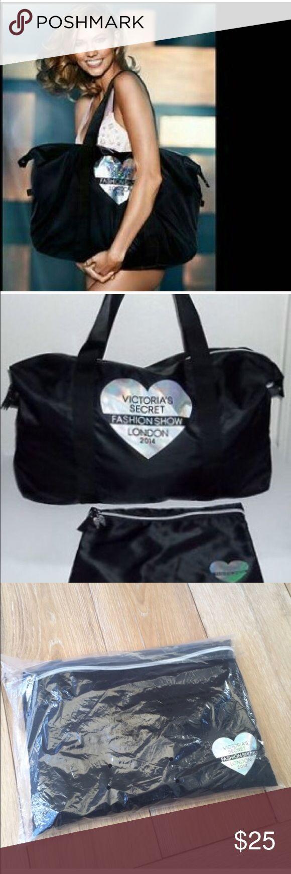 Victoria secret London fashion show 2014 2014 Victorias Secret London fashion show tote/bag. Brand new. Still in plastic. 100% nylon. Retail. $85! Victoria's Secret Bags Totes
