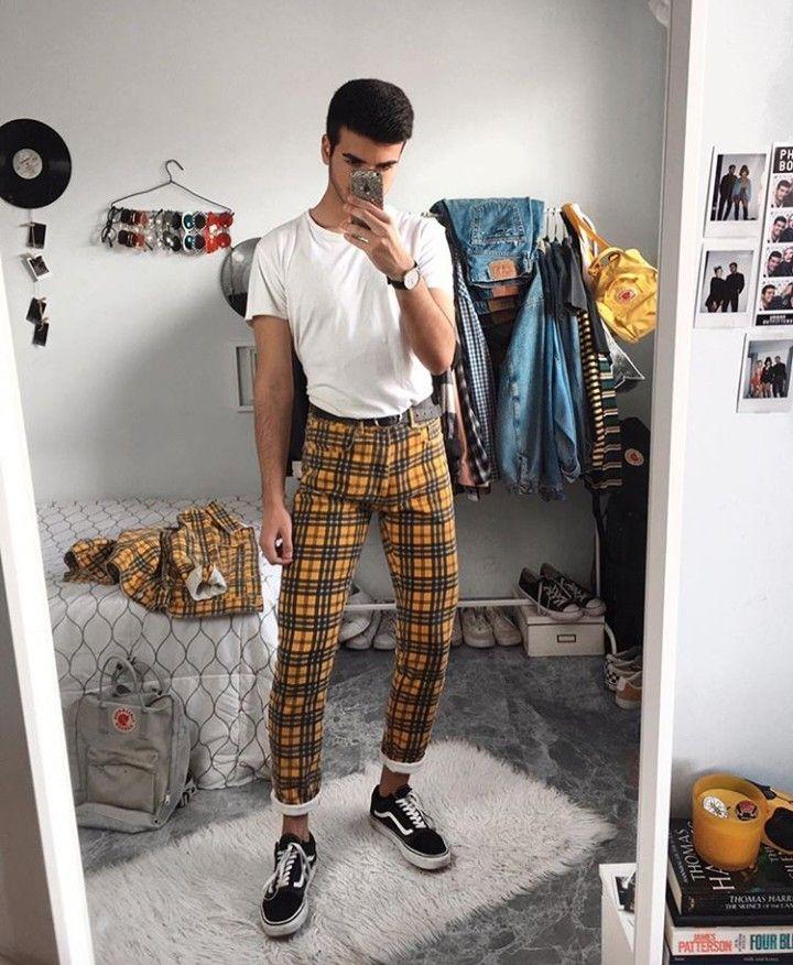 Outfit Yellow Estilos De Ropa Para Hombre Estilo De Ropa Hombre Ropa Hipster Hombre