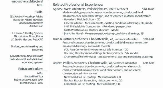 Computer Science Internship Resume Lovely Resume For Summer