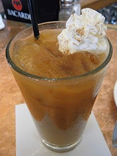 Pumpkin Apple Cider:  Comprised of Captain Morgan's, Pumpkin Spice Liquor and Chilled Pumpkin Apple Cider and topped with Whipped Cream and a sprinkle of Cinnamon