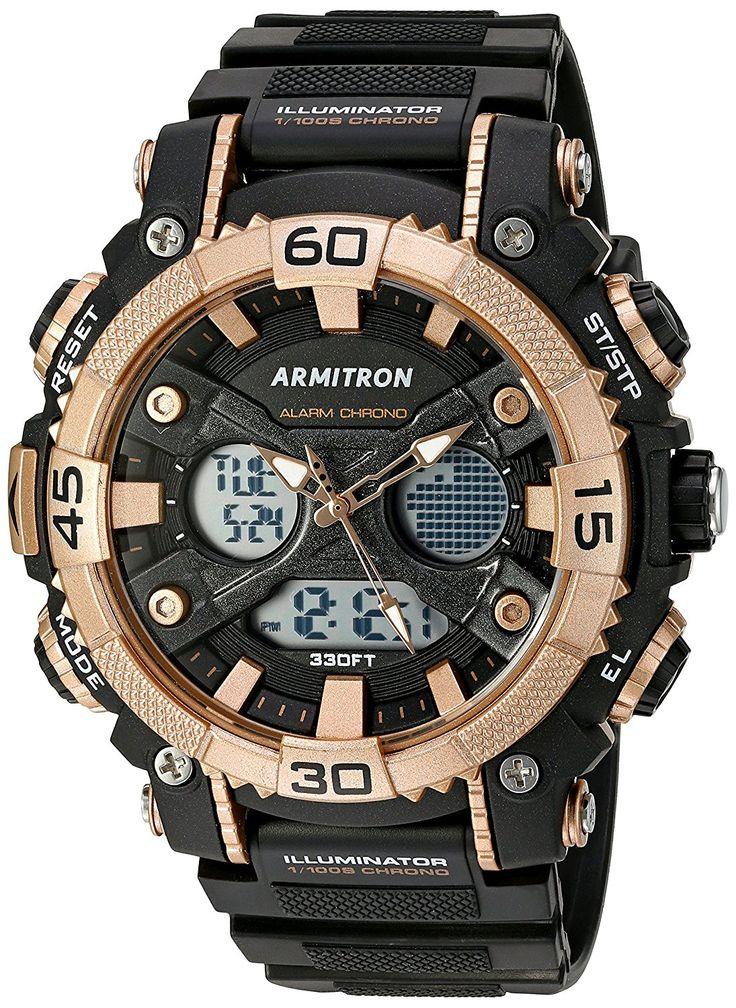 Armitron Sport Men's 20/5108BRG AnalogDigital Chronograph