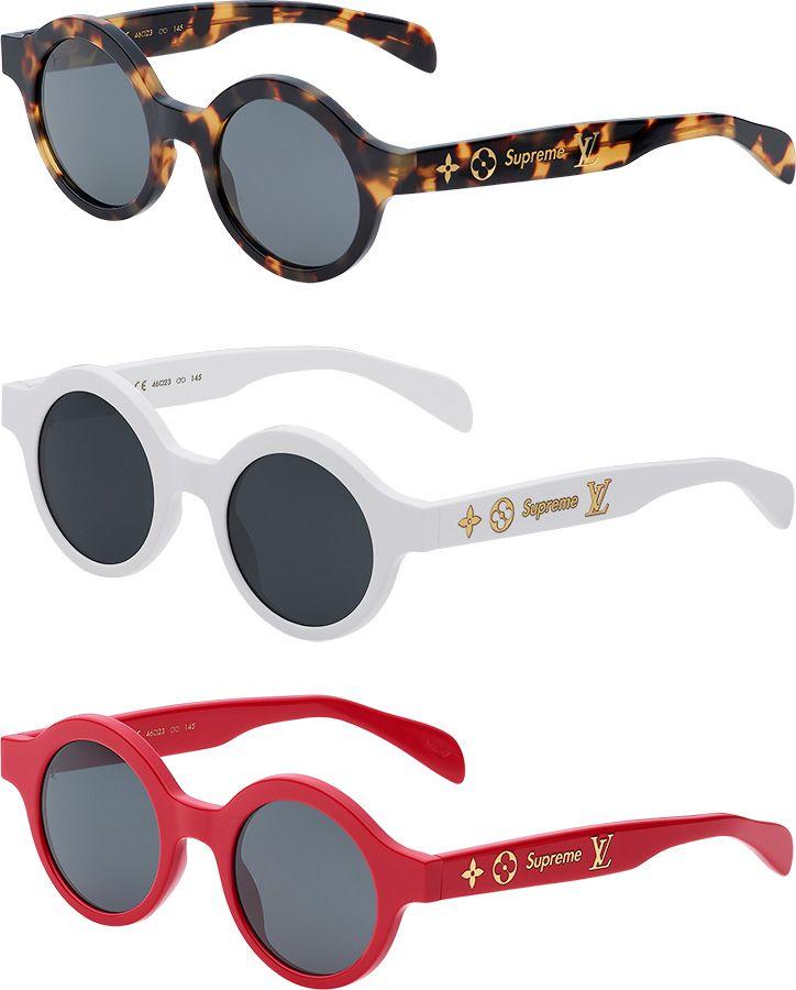 20e88517c8c4 Louis Vuitton x Supreme Accessory Collection. Louis Vuitton x Supreme  Accessory Collection Louis Vuitton Glasses ...