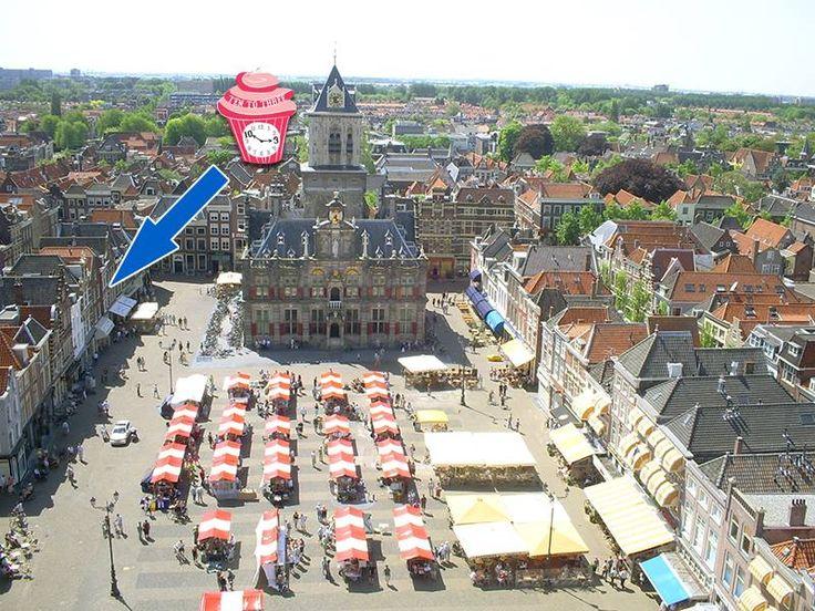 Birds Eye view - Ten to Three (Delft)