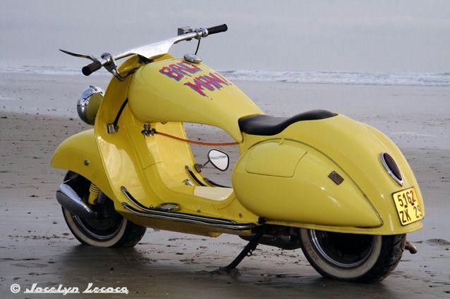 pinterest.com/fra411 #vespa - Vespa Acma 1954 Custom