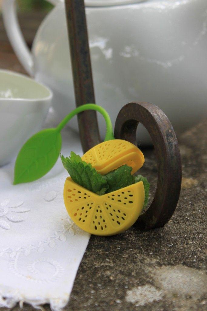 Infusor ❀ Limão - Despretensioso e alegre combinará na perfeição com as suas tisanas e infusões. Inspired by Lemon