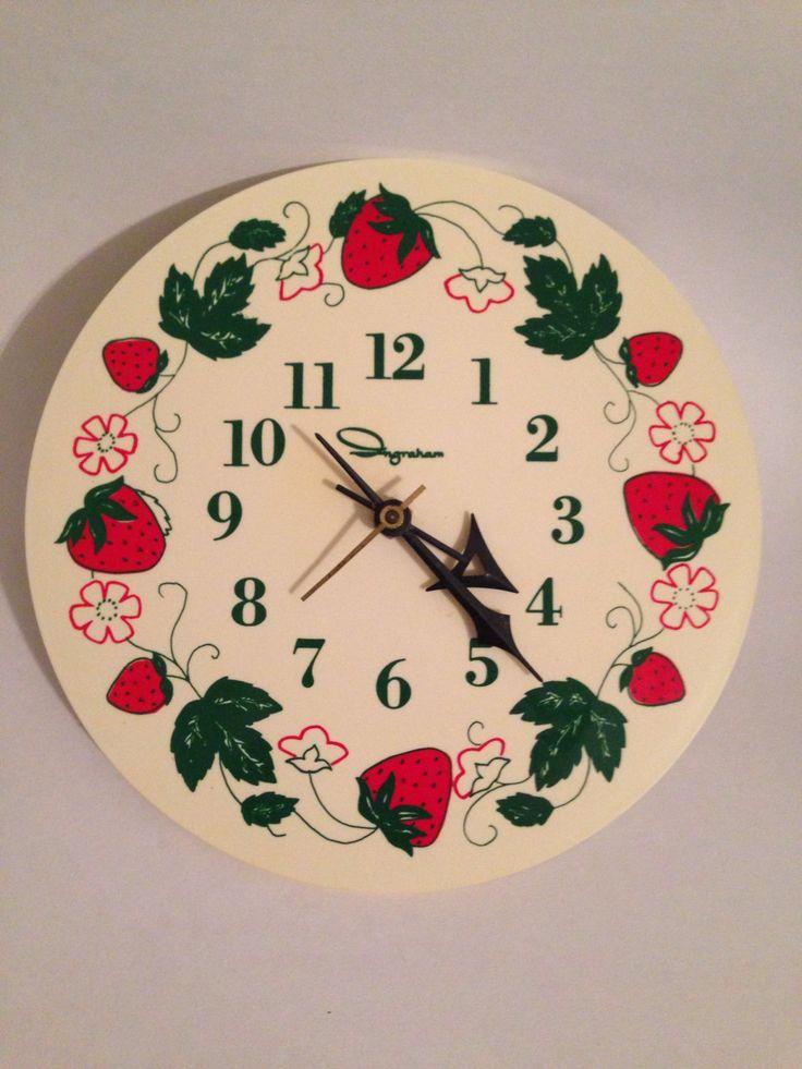369 besten Very VTG Kitchen Clocks Bilder auf Pinterest | Vintage ...