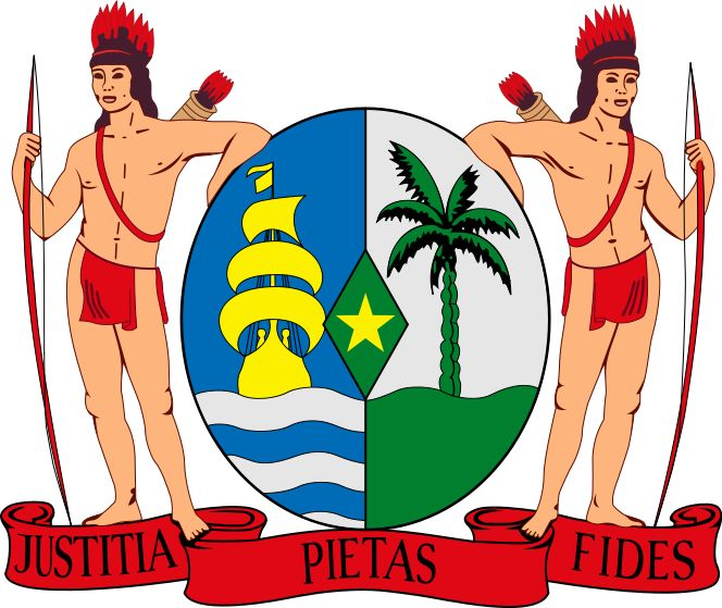 1975, Surinam, Capital: Paramaribo, Ext 163820 Km2 #Surinam #Paramaribo (L2262)