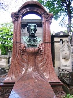 Emile Zola, cimetière de Montmartre