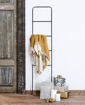 """""""You can hang all sorts of stylish decorations on these ladders,"""" Anna suggests. Price DKK 98,00 / SEK 136,00 / NOK 139,00 / EUR 13,79 / ISK 2669 / GBP 12.18"""