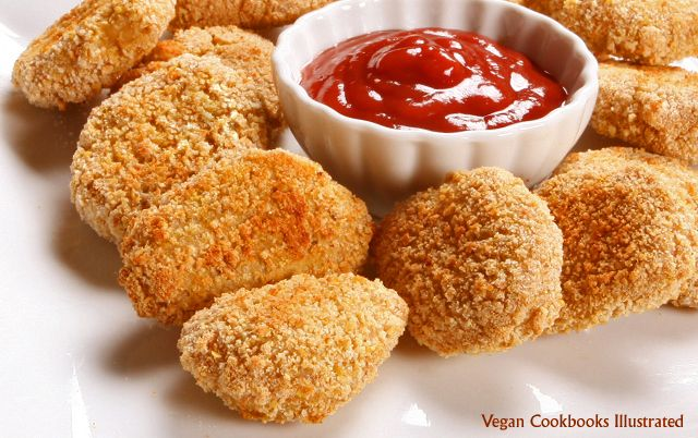 Vegan Dad's vegan Chicken Nuggets! Now where are the fries?