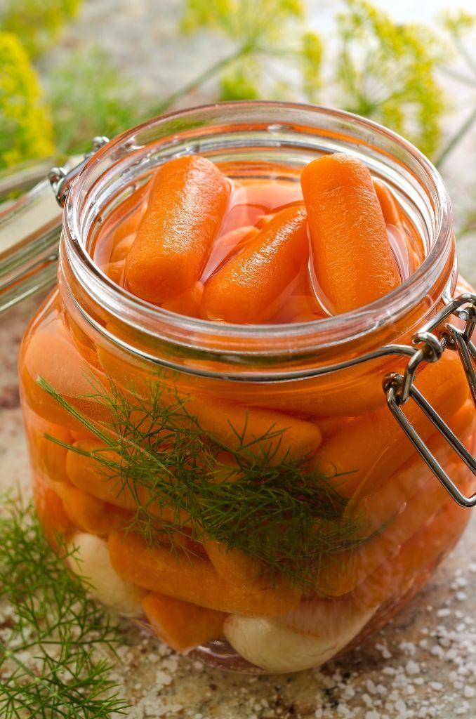 Marinovaná mrkva