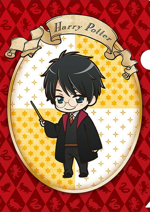 Official anime-style Harry Potter merchandise: Harry Potter
