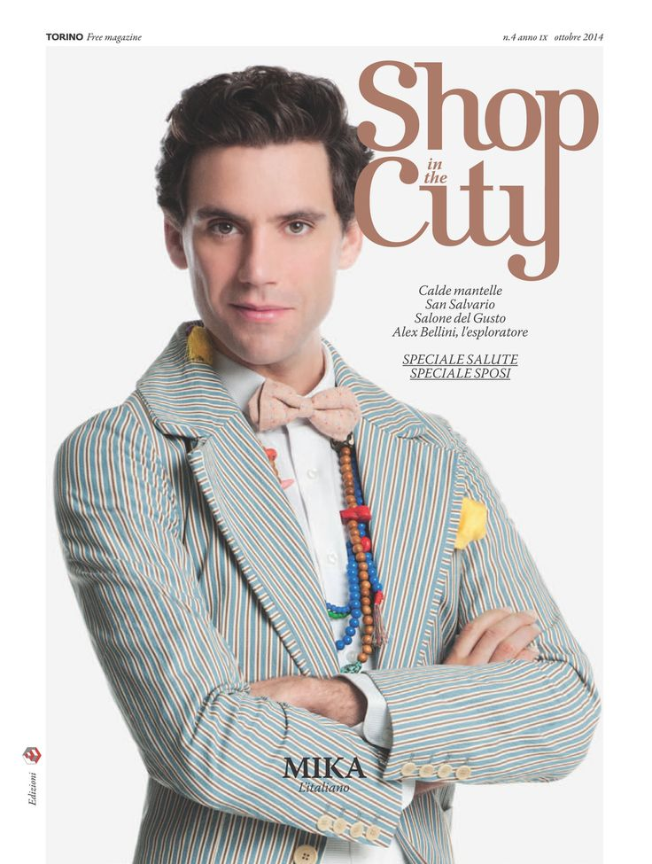 Mika - Shop In The City - Italian - October 2014 - page 1 of 6 - cover