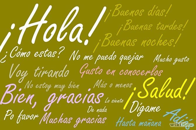 Good Morning In Spanish To English : How to say greetings and goodbyes in spanish