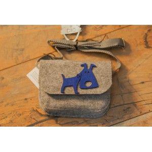 Etoi Design - szara torebka i piesek
