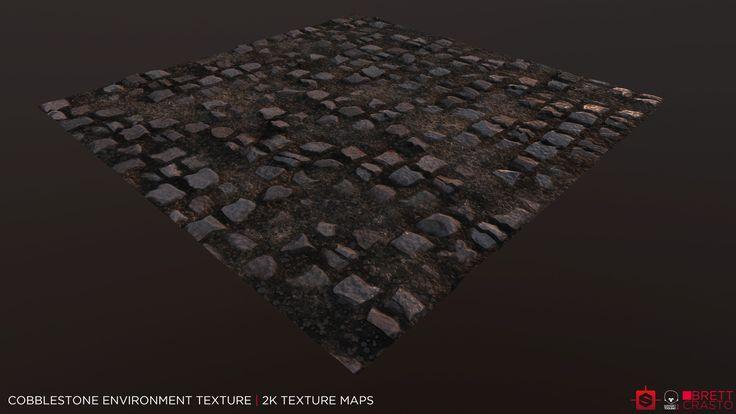 ArtStation - Broken Ground and Cobblestone Environment Textures, Brett Crasto